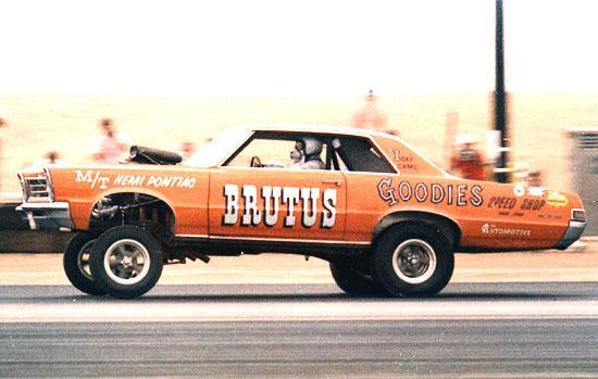1966 AWB Pontiac GTO Funny Car