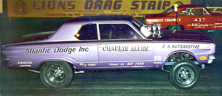 1965 66 Dodge Dart Funny Car