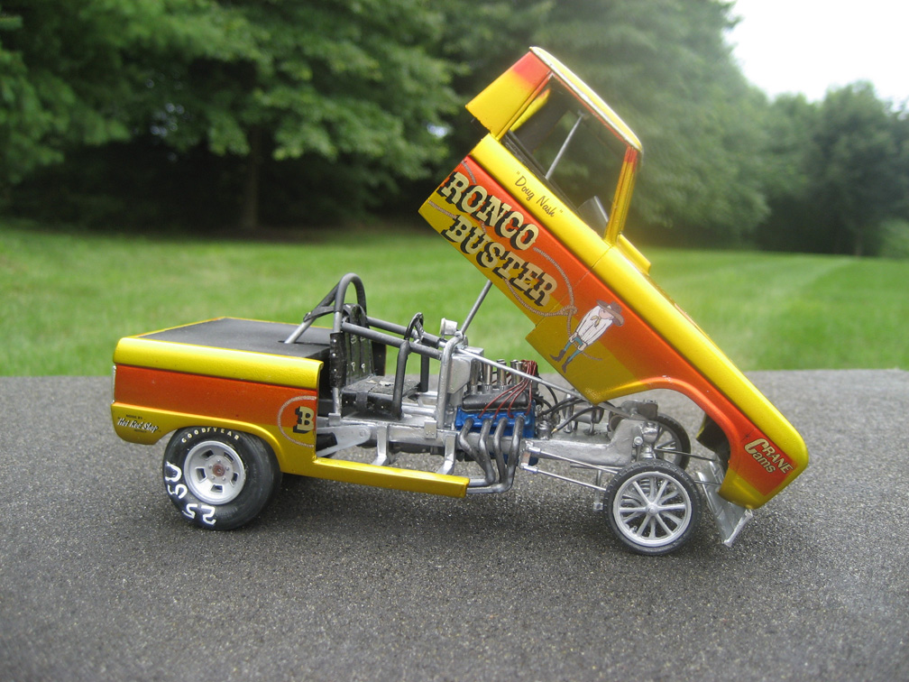 Speed City Resin Vintage Drag Racing Model Cars